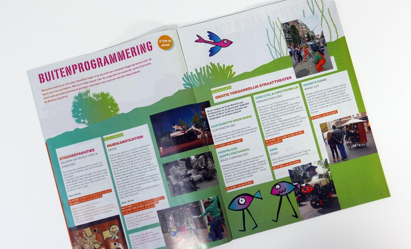 Kinderfestival de Betovering, programma 2016