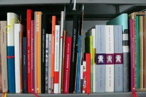 Boeken-ruggen