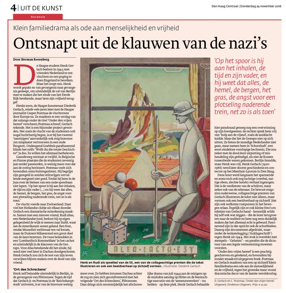 Den Haag Centraal recensie Onder den vrijen hemel