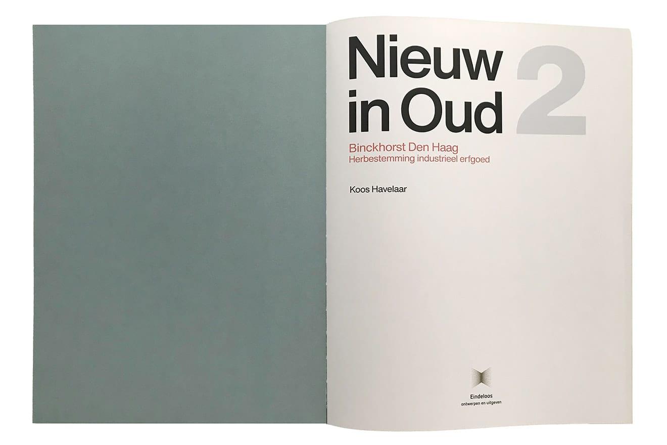 Boek Nieuw in Oud binnenwerk