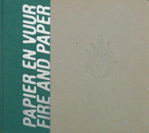 Papier en Vuur   Uitgave Papier Biënnale 1998 omslag