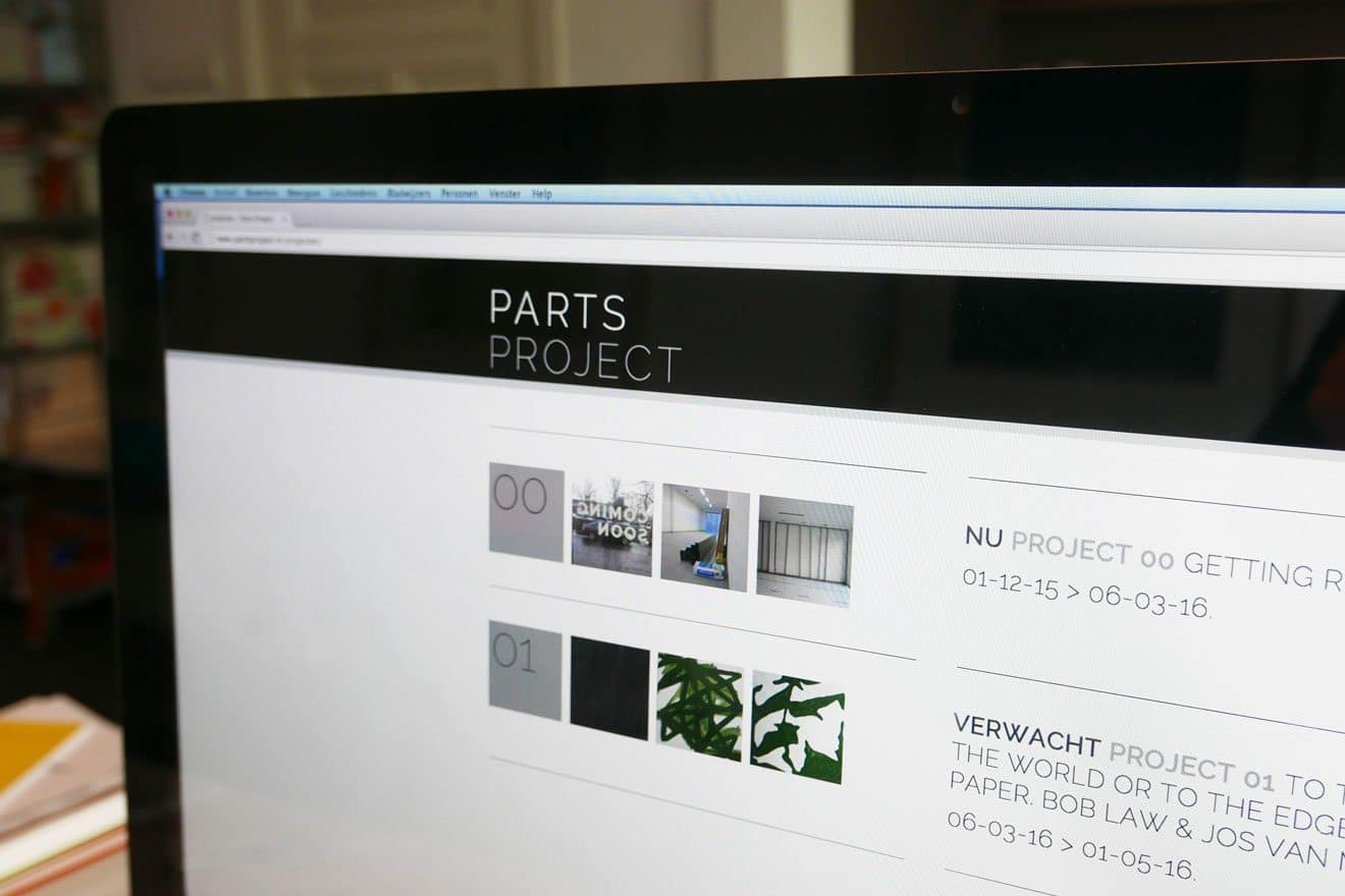 Parts Project | website detail
