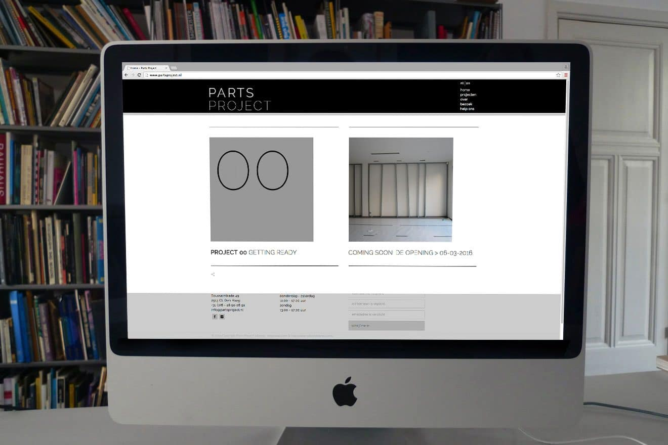 Parts Project | website home