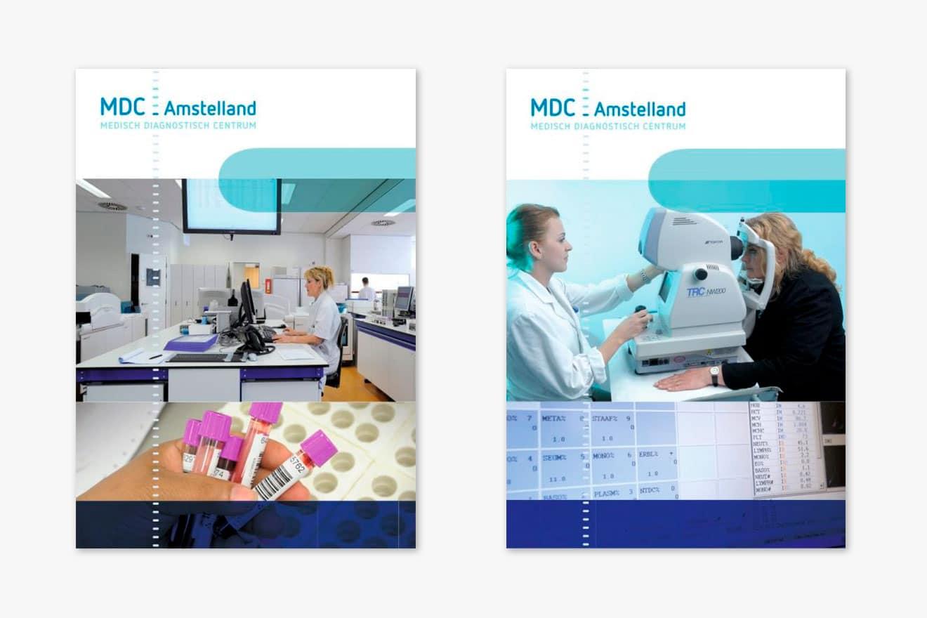 Medisch Diagnostisch Centrum Amstelland - huisstijl clickbord