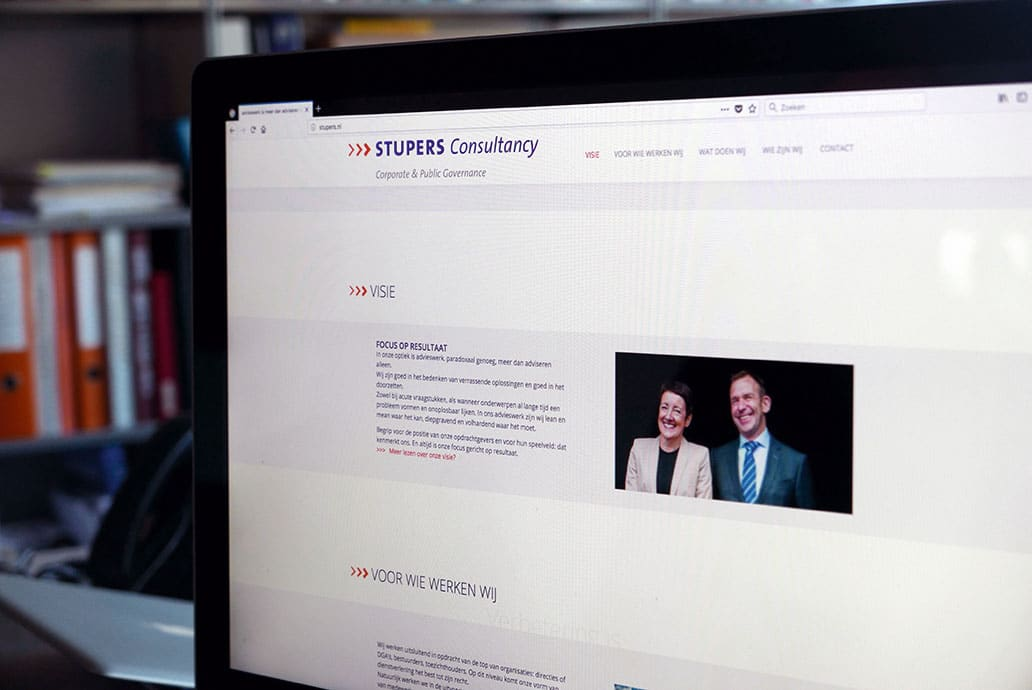 Stupers Consultancy - website