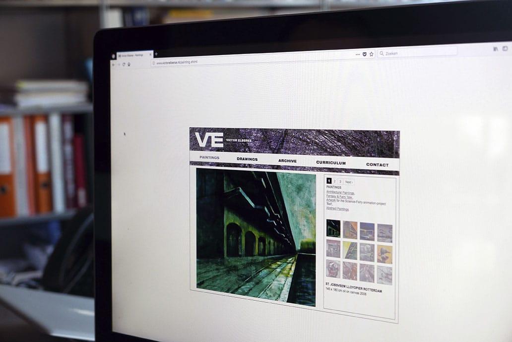 Victor Elberse - website
