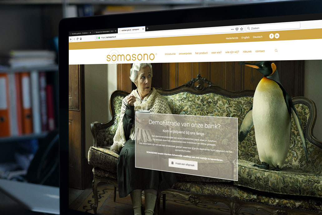 Somasono website